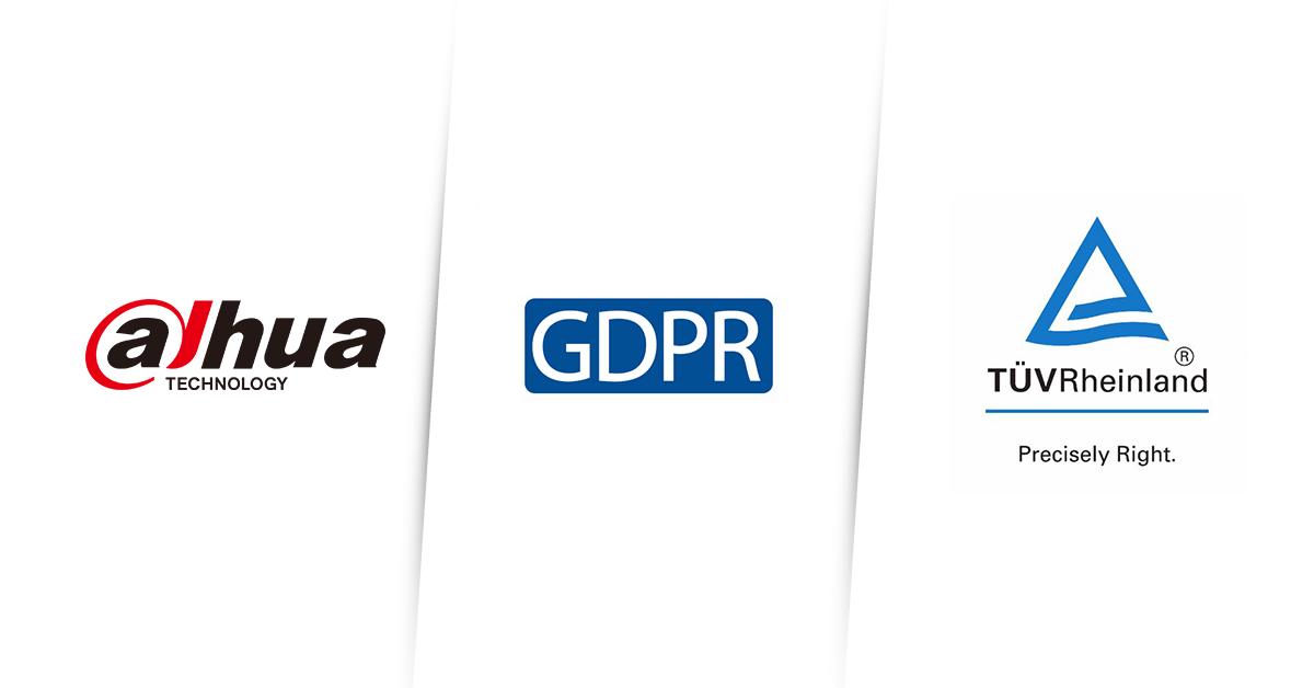 Em primeiro lugar na indústria global de videovigilância, os produtos de vídeo IP da Dahua são certificados para cumprir com as normas GDPR da TÜV Rheinland