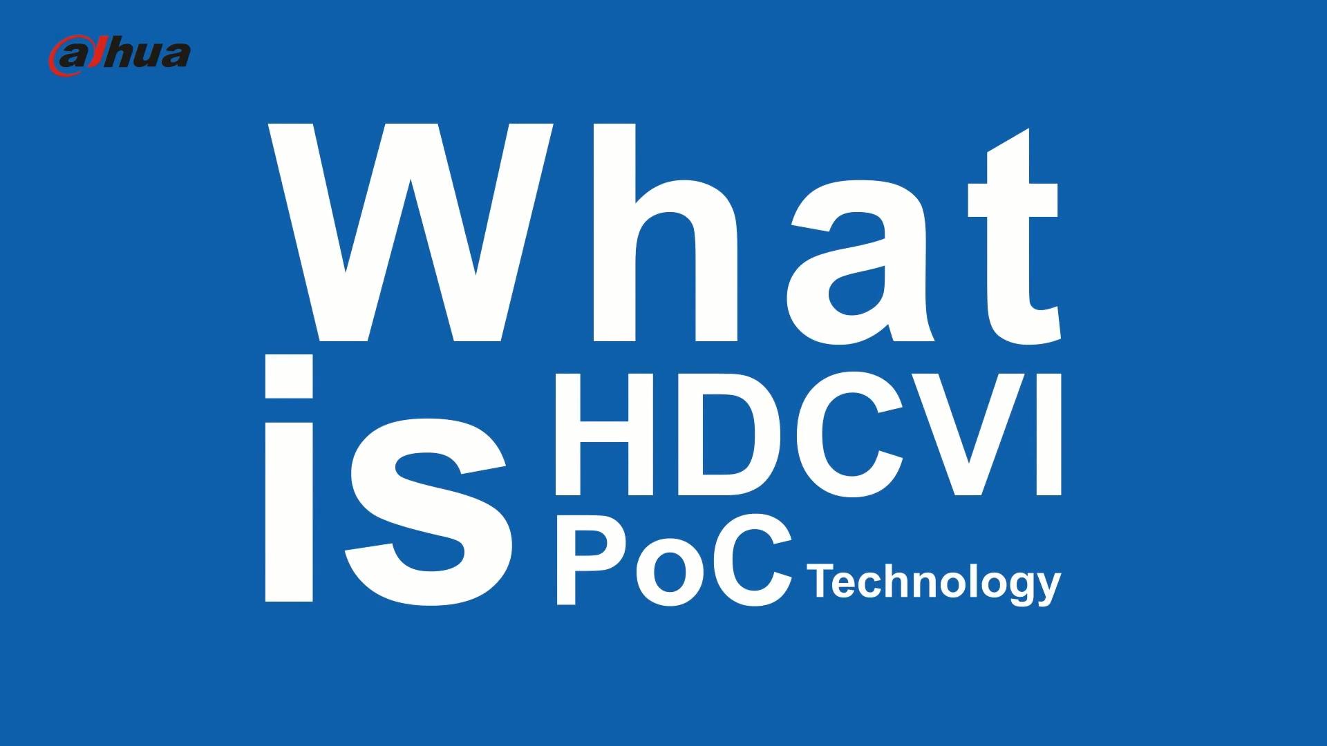 Dahua HDCVI PoC