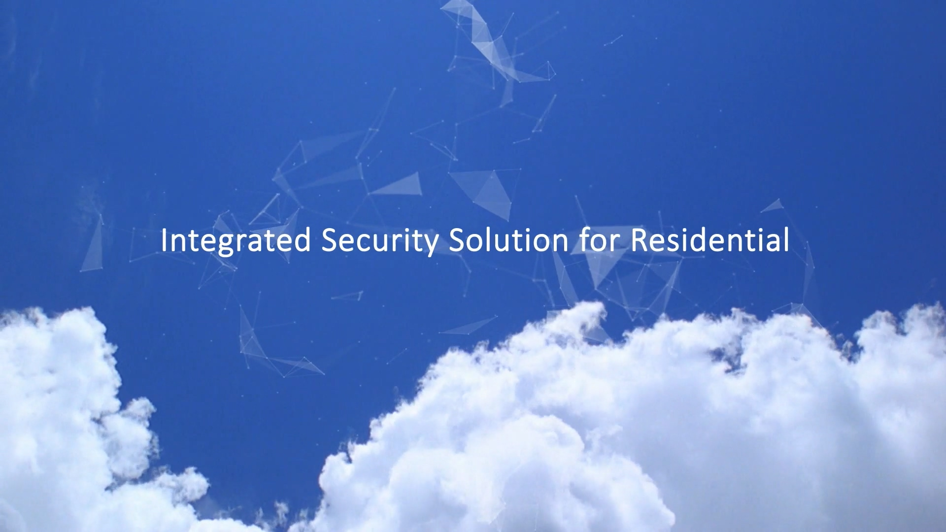 Dahua Integrated Security Solution for Residential