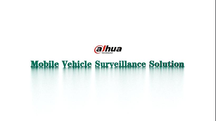 Mobile Vehicle Surveillance Solution
