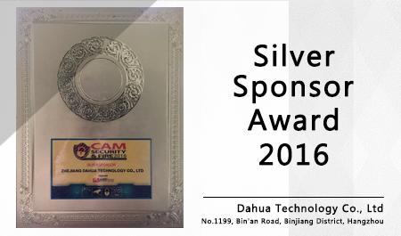 Silver Sponsor Award 2016