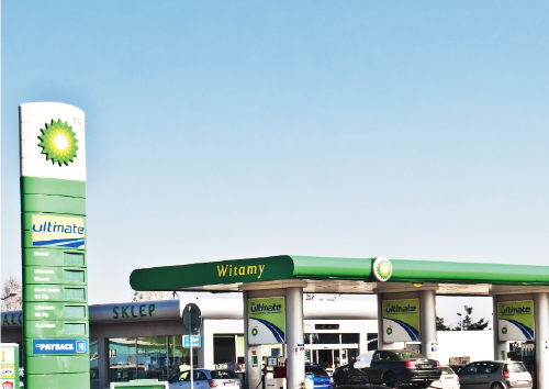 Shell & BP Gas Stations in The UK Ireland