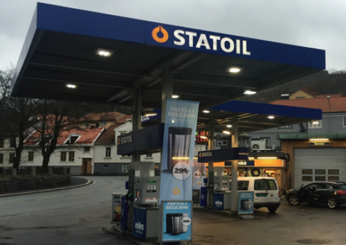 Statoil ASA (Norway) Gas Station