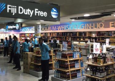 Nadi International Airport in Fiji