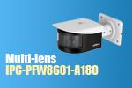 Dahua Launches Multi-lens 180-degree Panoramic Network IR Bullet Camera