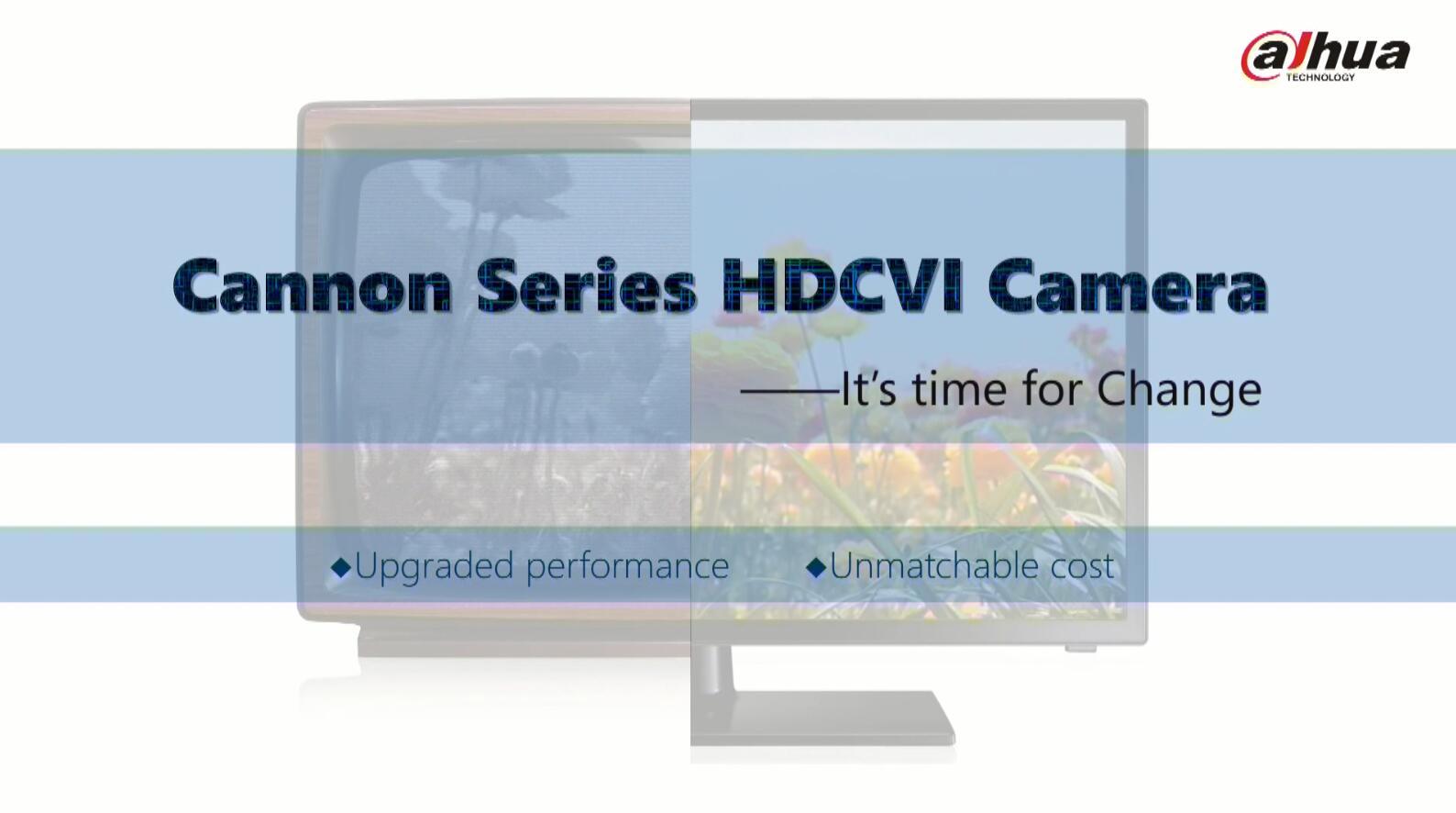 Cannon Series HDCVI Camera