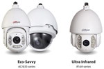 Dahua Offers a New Pair of Network PTZ Dome - Eco-Savvy and Ultra Infrared Series