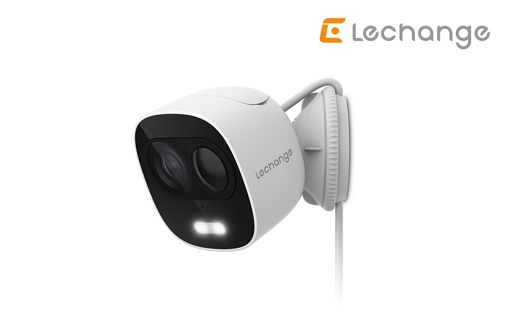 LOOC:  la nuova telecamera Wi-Fi Lechange a deterrenza attiva