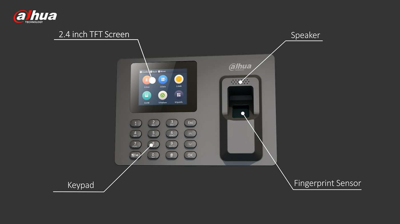 Dahua Time Attendance Terminal Solution