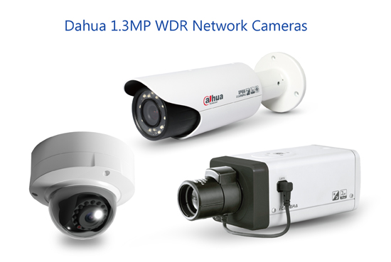 Dahua Tech Launches 1 3MP WDR Network Cameras